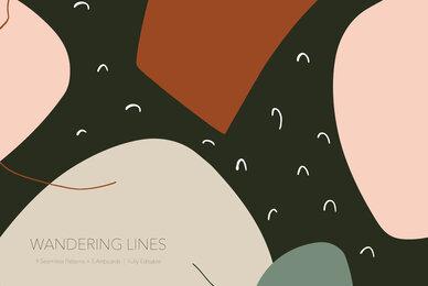 Wandering Lines