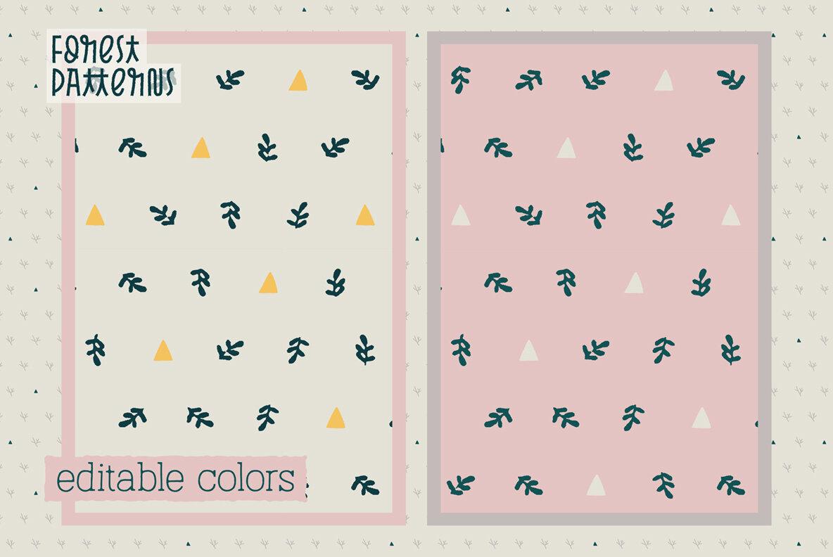Forest Patterns Vol 2