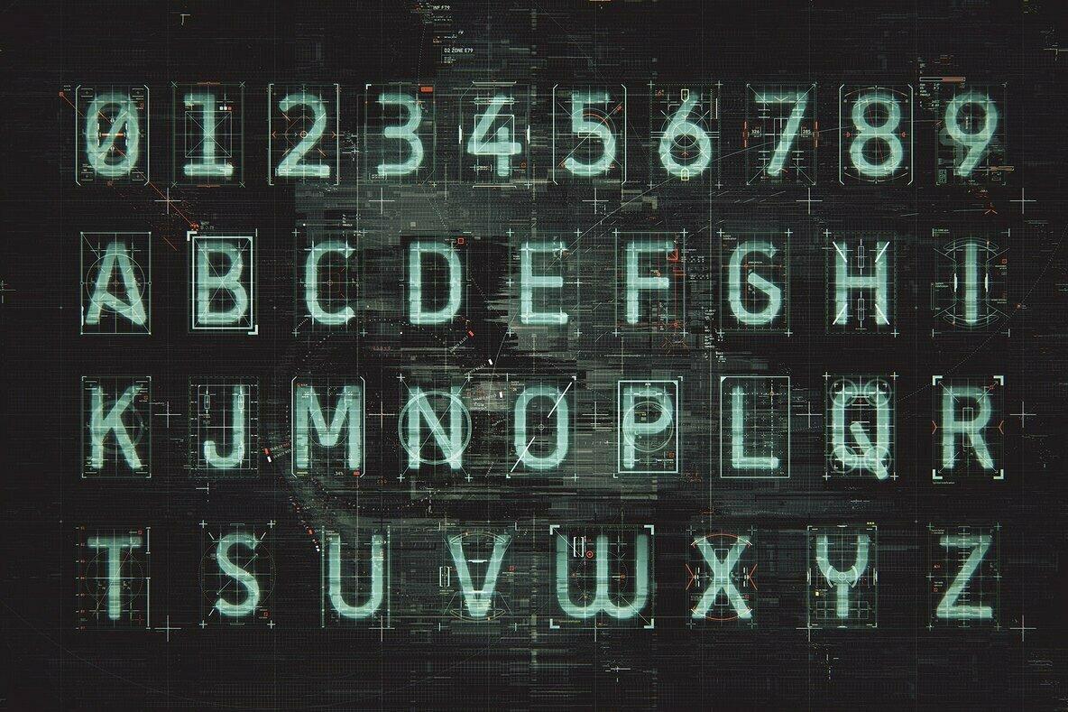 Project Zero   HUD Alphabet Kit