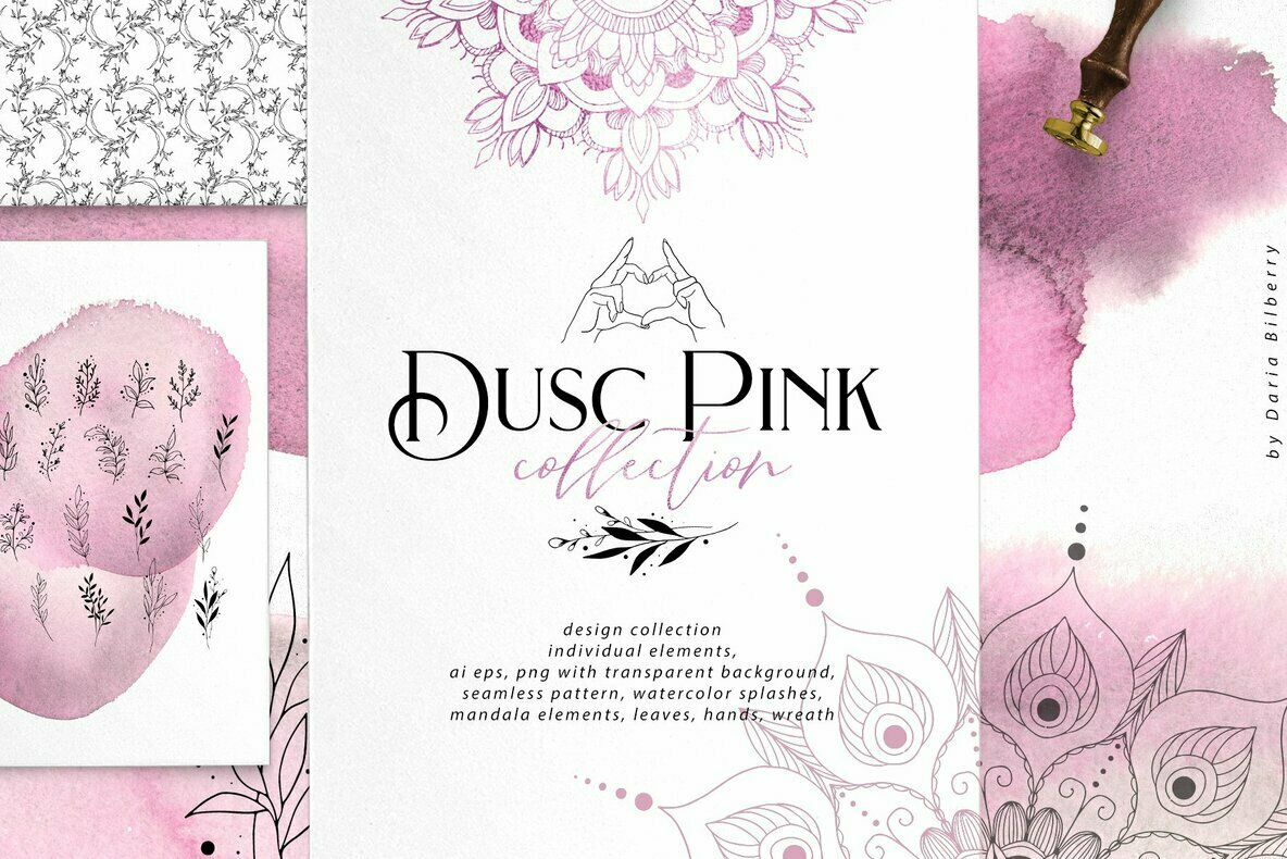 Dusc Pink Collection