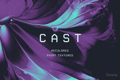 Cast   Recolored Paint Textures