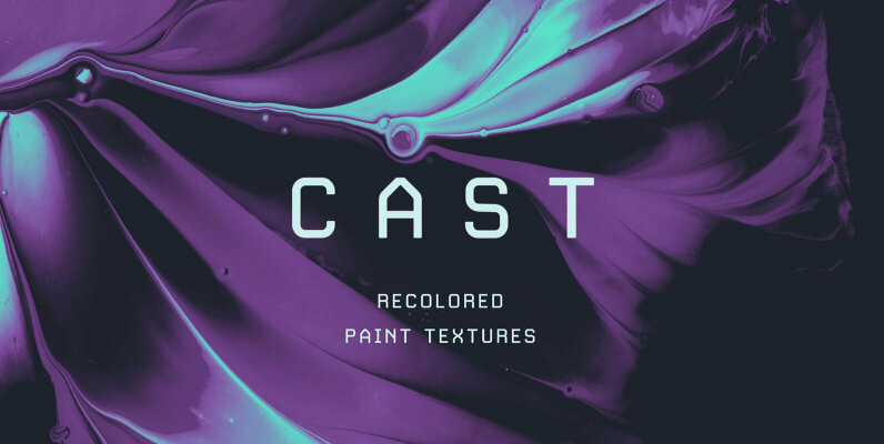 Cast   Recolored Paint Textures