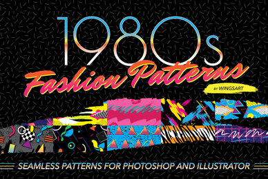 1980s Fashion Patterns Vol 1