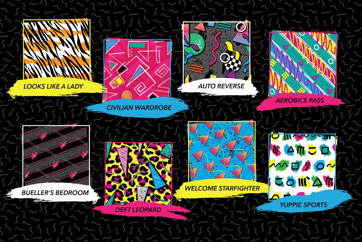 1980s Fashion Patterns Vol 1