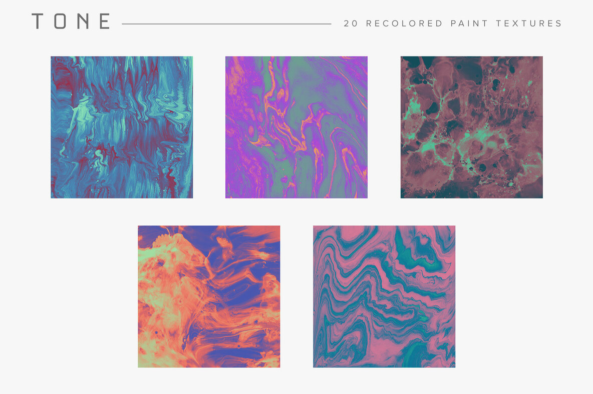 Tone     Recolored Paint Textures