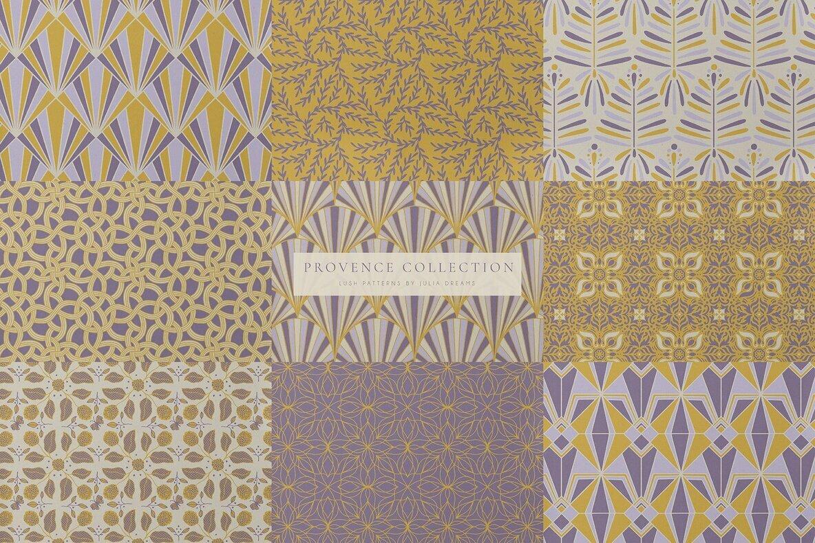 Lush Seamless Patterns Kit