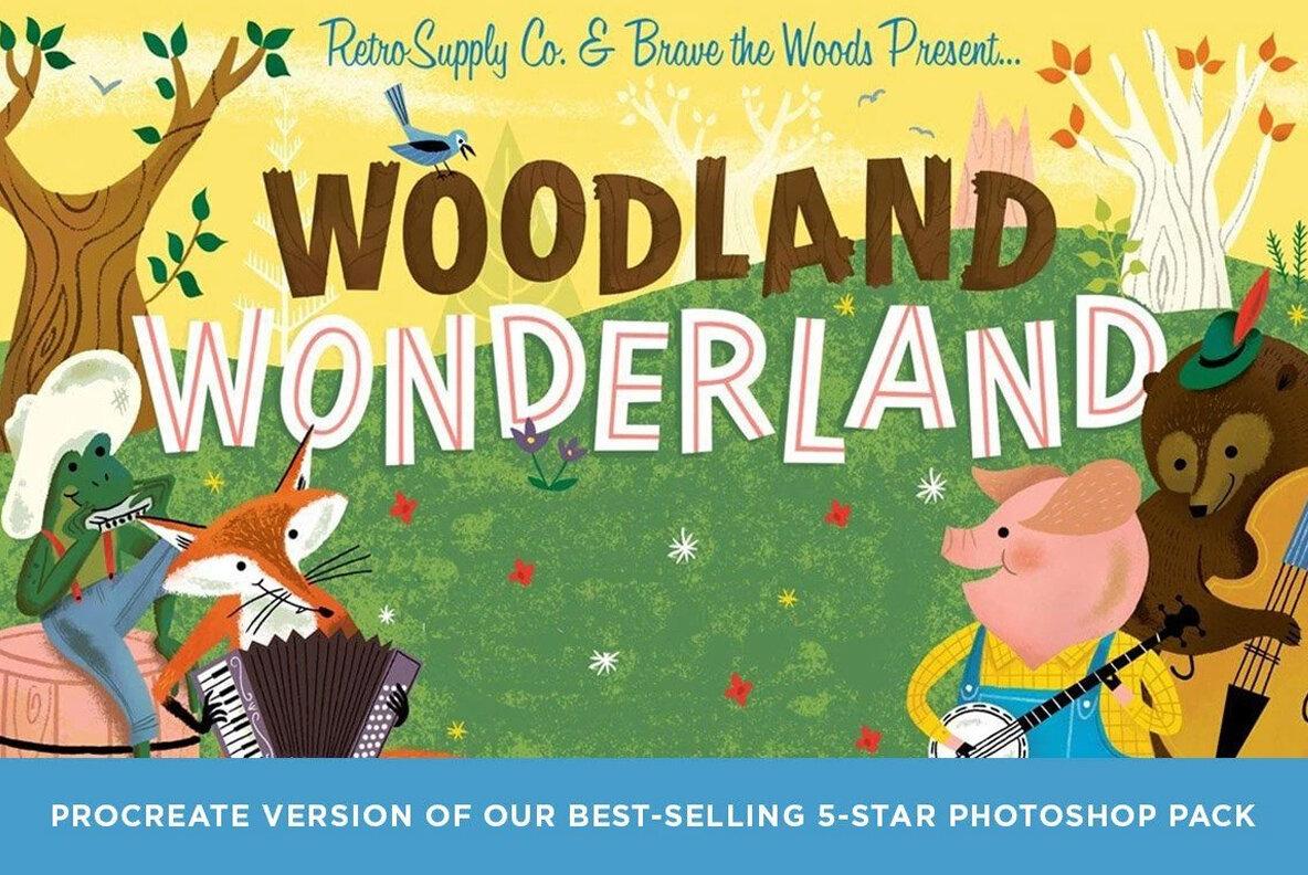 Woodland Wonderland for Procreate