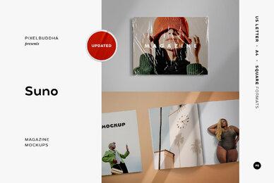 Suno Magazine Mockup Kit