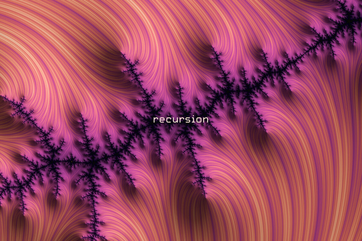 Recursion   Hi res Fractal Textures