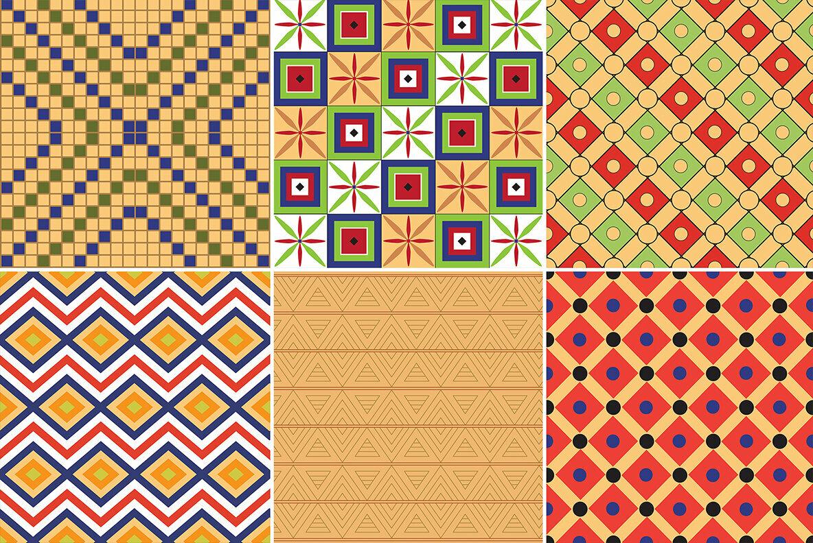 24 Egypt Patterns