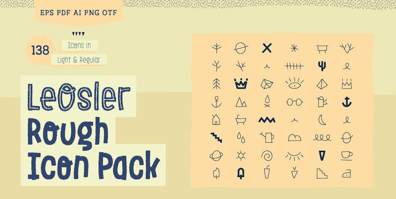 LeOsler Rough Icon Pack