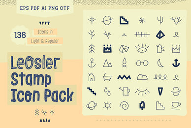 LeOsler Stamp Icon Pack
