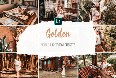 Golden   Mobile Lightroom Presets