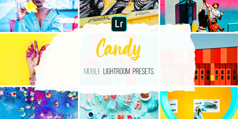 Candy   Mobile Lightroom Presets