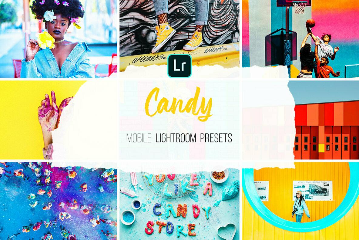 Candy   Mobile Lightroom Presets