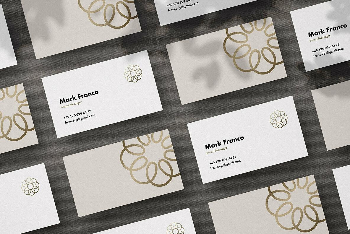 Mote Business Card Mockups