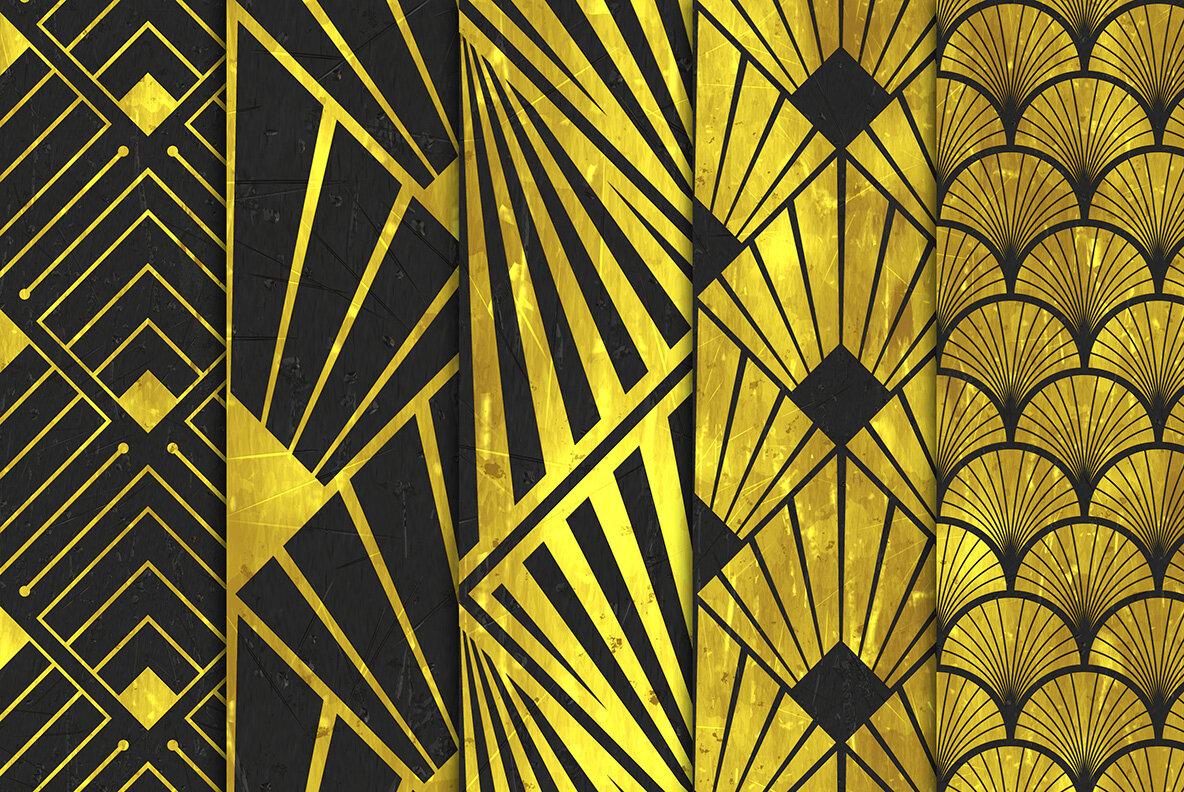 Art Deco Backgrounds