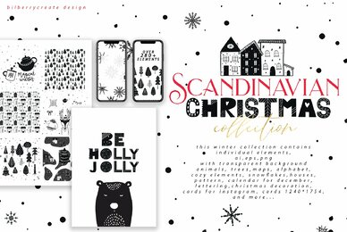 Scandinavian Christmas Big Pack