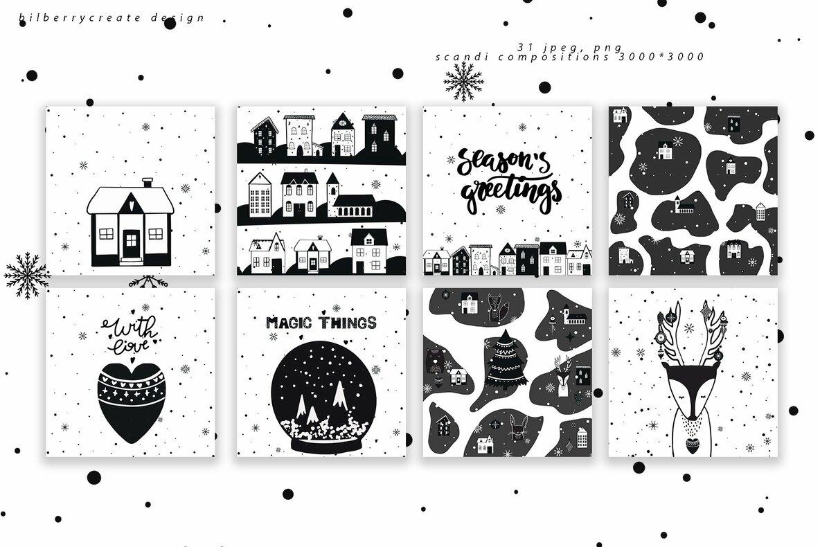 Scandinavian Christmas Big Pack