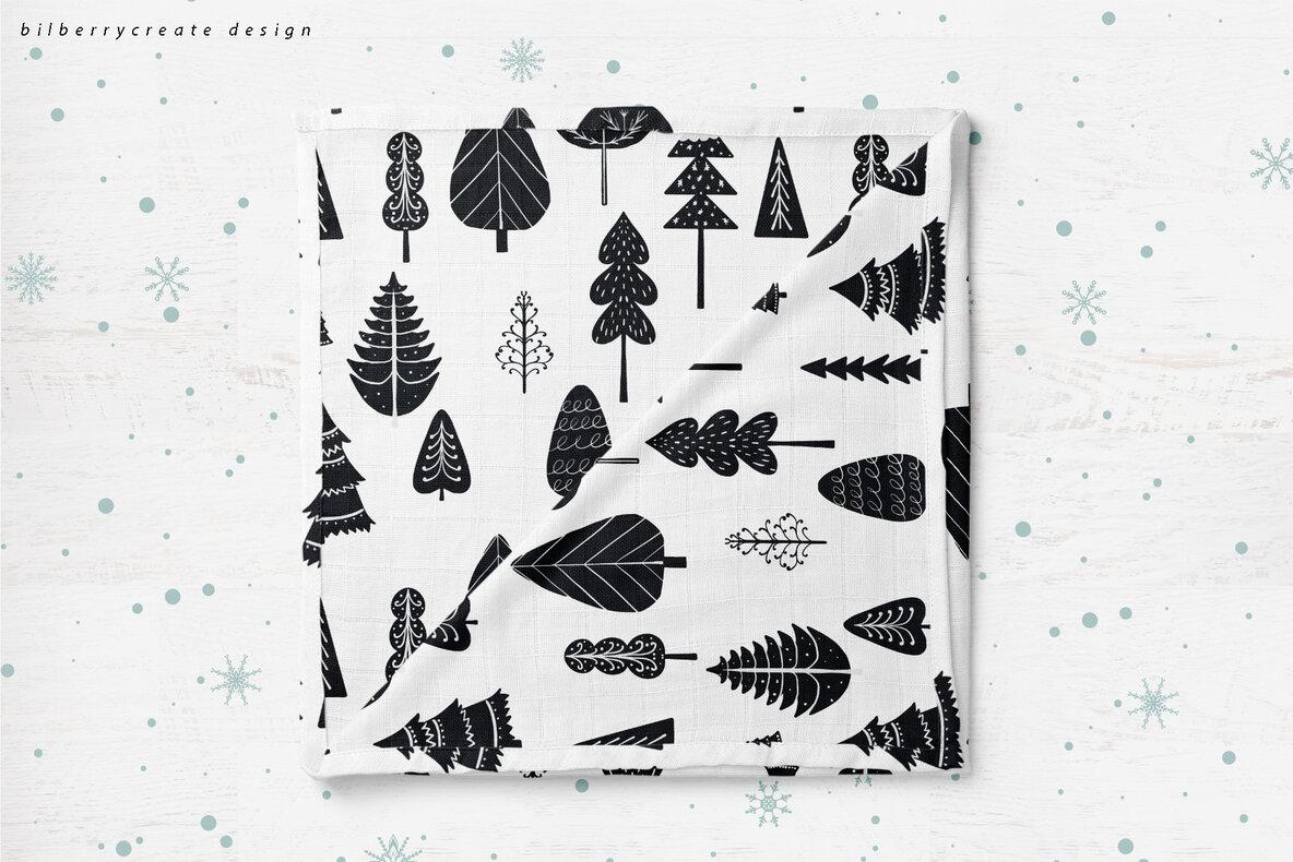 SCANDI Seamless Patterns