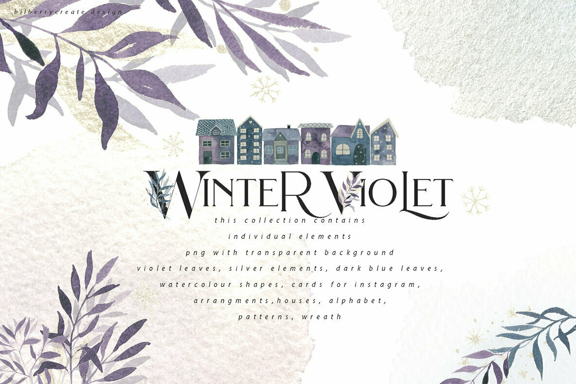 Winter Violet Collection
