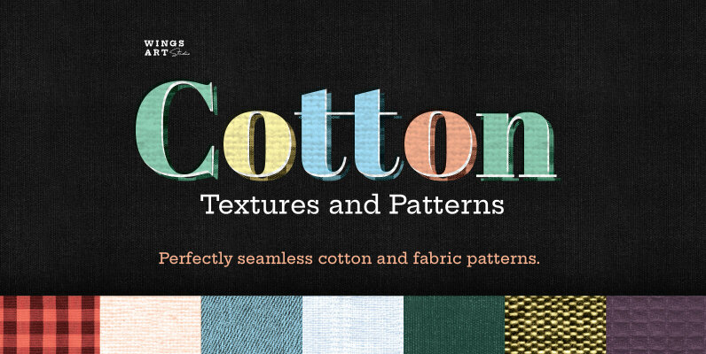 Cotton Textures and Patterns
