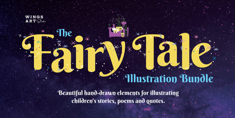 Fairy Tale Illustration Bundle