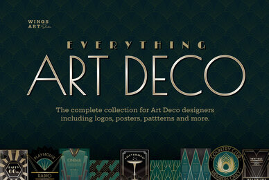 The Complete Art Deco Graphics Collection
