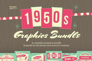 The Complete 1950s Graphics Bundle