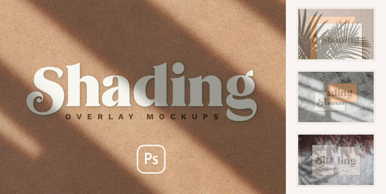Shadow Overlay   Stationery Mockups