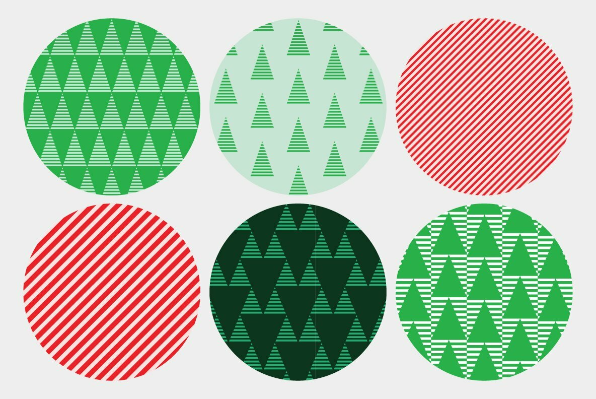 Striped Holiday Patterns