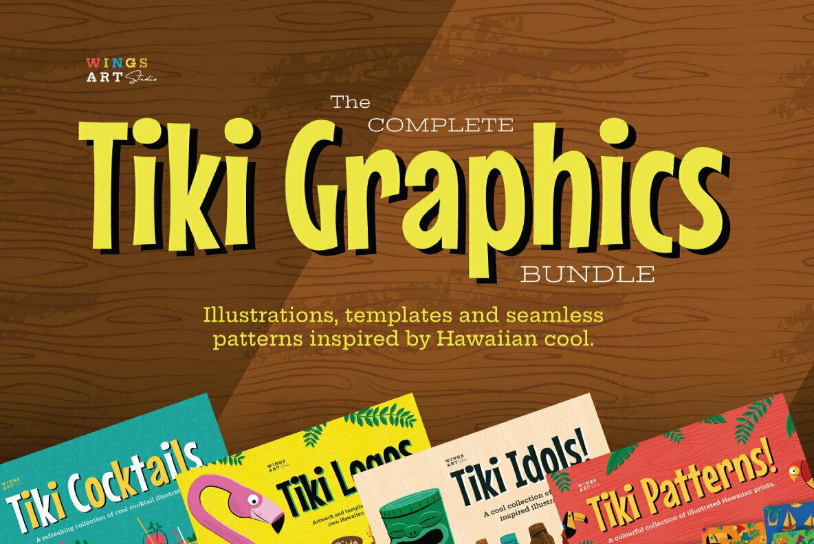 The Complete Tiki Graphics Bundle