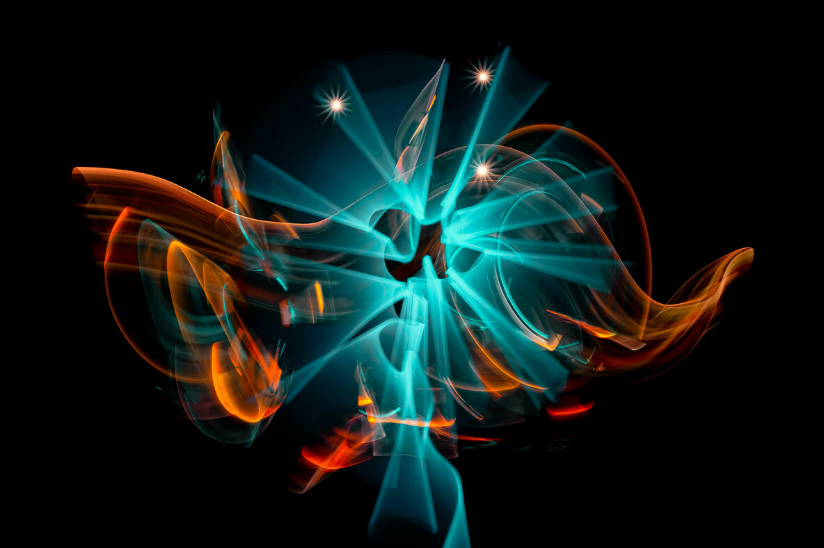 Ambient   Abstract Light Paintings