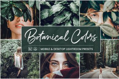 Botanical Colors   Mobile  Desktop Lightroom Presets