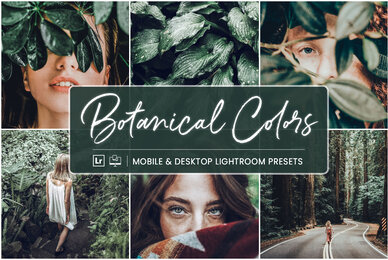 Botanical Colors   Mobile  Desktop Lightroom Presets