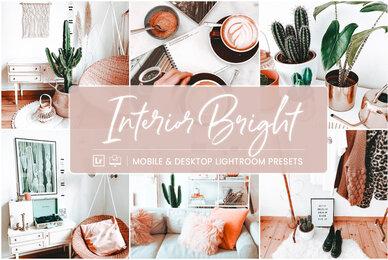 Interior Bright   Mobile  Desktop Lightroom Presets