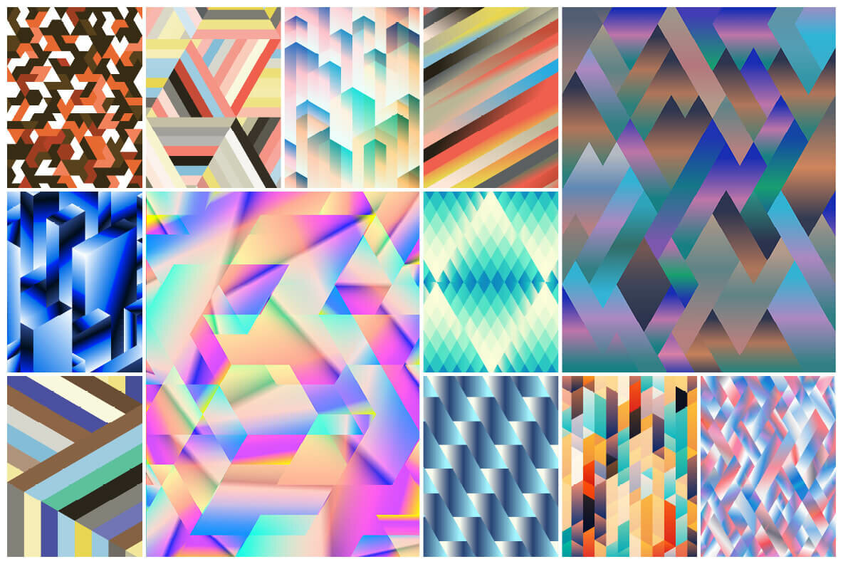 165 Abstract Geometric Backgrounds