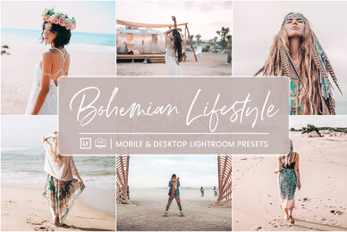 Bohemian Lifestyle   Mobile  Desktop Lightroom Presets