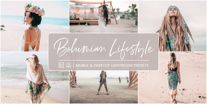 Bohemian Lifestyle   Mobile   Desktop Lightroom Presets