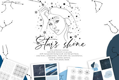 Stars Shine Art Set