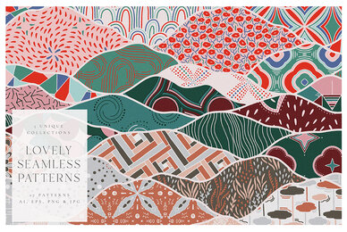 Lovely Seamless Patterns Kit