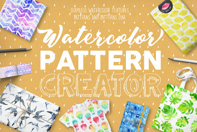 Watercolor Pattern Creator