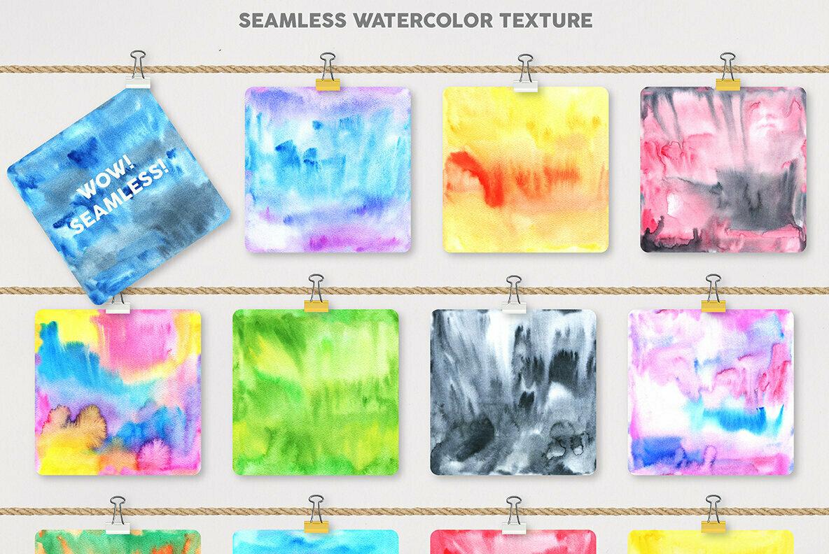 Watercolor Pattern Creator