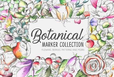 Botanical Marker Collection