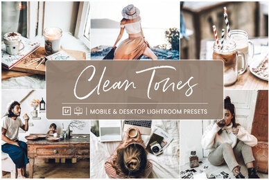 Clean Tones   Mobile  Desktop Lightroom Presets