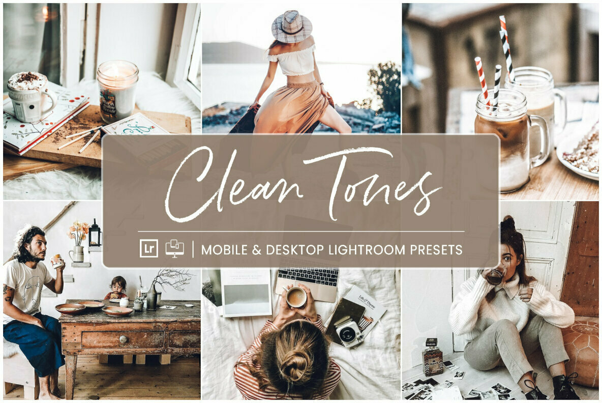 Clean Tones   Mobile   Desktop Lightroom Presets