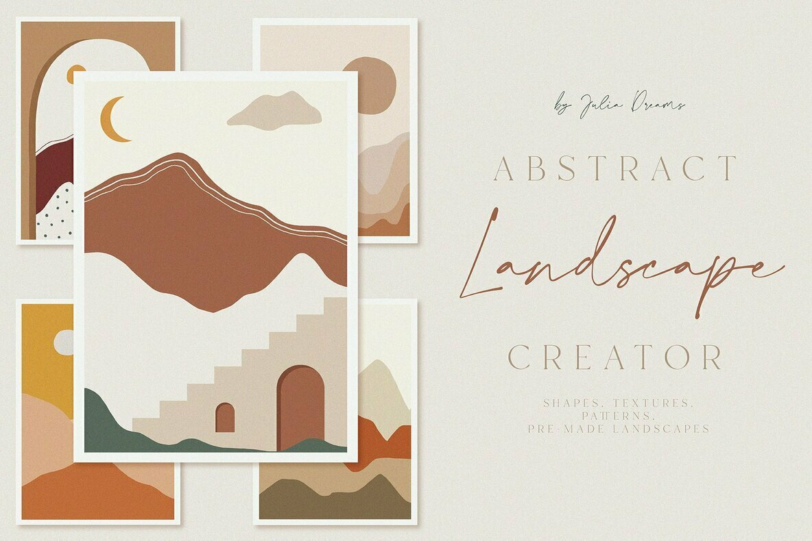 Abstract Landscape Creator