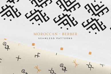 Moroccan Berber Seamless