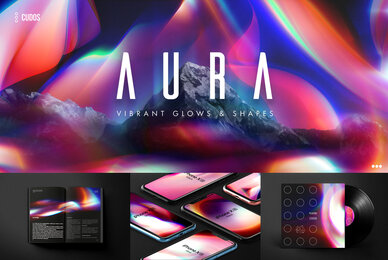 AURA   Vibrant Glows  Shapes