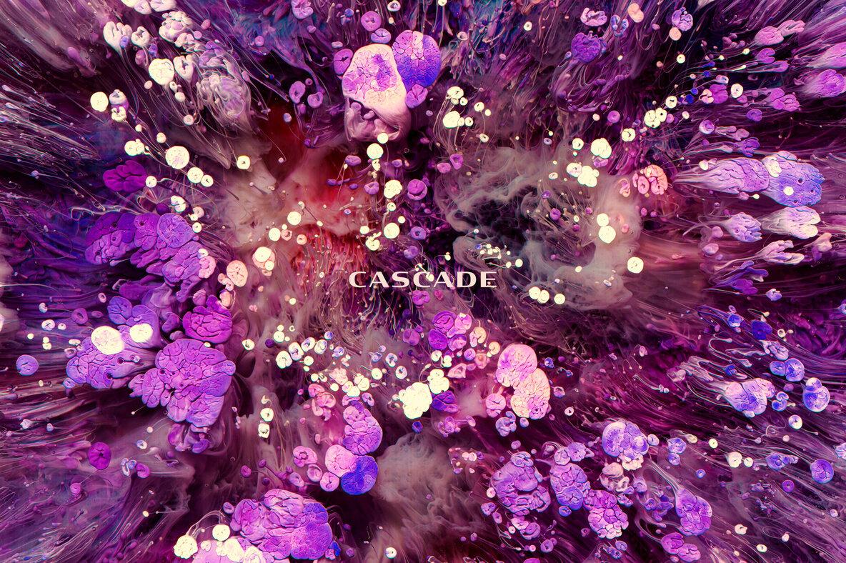 Cascade   Ink   Resin Textures